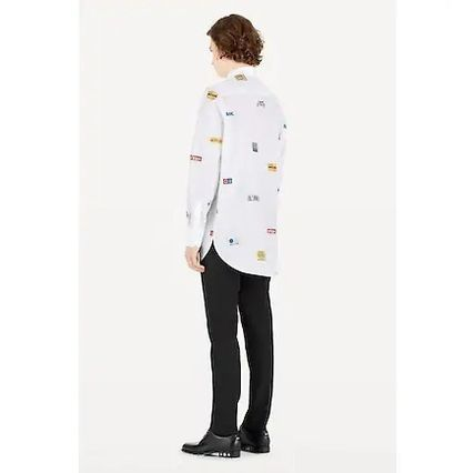 Louis Vuitton Shirts Long Sleeves Cotton Shirts 3