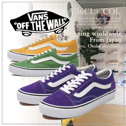 Casual Style Unisex Plain Low-Top Sneakers