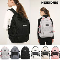 NEIKIDNIS Unisex Street Style A4 Backpacks