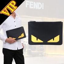 FENDI BAG BUGS Unisex Calfskin Other Animal Patterns Clutches