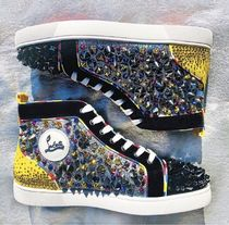 Christian Louboutin LOUIS Studded With Jewels Sneakers