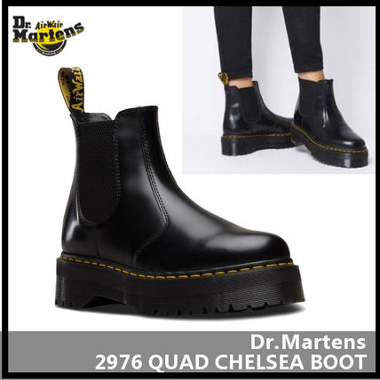 Unisex Street Style Leather Boots