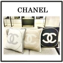 CHANEL Unisex Decorative Pillows
