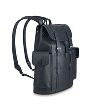 Louis Vuitton CHRISTOPHER Street Style Leather Backpacks