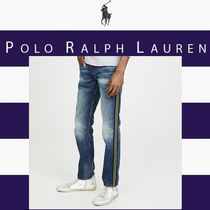POLO RALPH LAUREN Stripes Denim Street Style Jeans & Denim