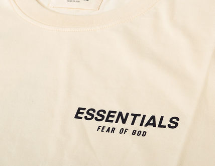 FEAR OF GOD More T-Shirts Unisex Street Style Short Sleeves T-Shirts 4