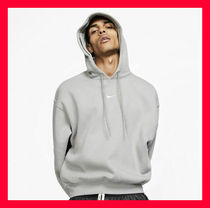 FEAR OF GOD Unisex Street Style Collaboration Plain Hoodies
