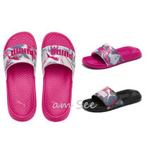 PUMA Tropical Patterns Open Toe Rubber Sole Casual Style