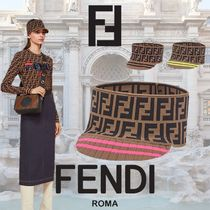 FENDI Blended Fabrics Hats & Hair Accessories