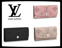 Louis Vuitton MAHINA Monogram Unisex Leather Keychains & Bag Charms