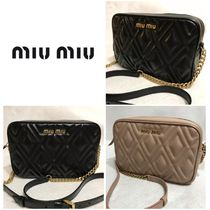 MiuMiu Leather Crossbody Shoulder Bags