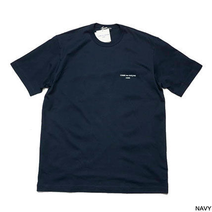 COMME des GARCONS More T-Shirts Unisex Street Style U-Neck Plain Cotton Short Sleeves 4