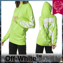 Off-White Street Style Long Sleeves Cotton Hoodies & Sweatshirts