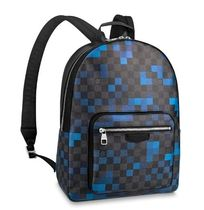 Louis Vuitton Blended Fabrics Street Style Leather Backpacks