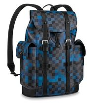Louis Vuitton DAMIER GRAPHITE Other Check Patterns Canvas Street Style 2WAY Bi-color