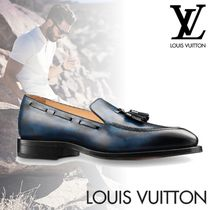 Louis Vuitton Camouflage Loafers Tassel Leather U Tips Loafers & Slip-ons