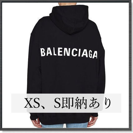 BALENCIAGA Hoodies Plain Hoodies