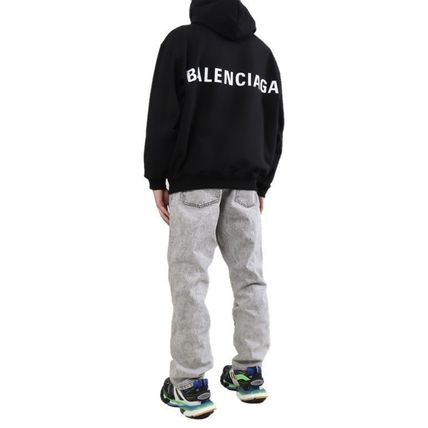 BALENCIAGA Hoodies Plain Hoodies 3