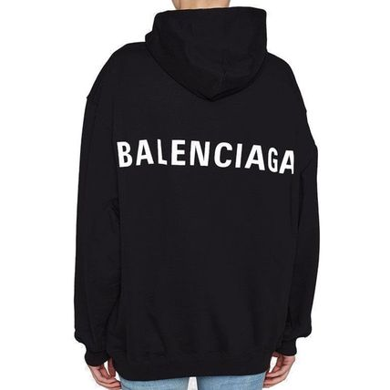 BALENCIAGA Hoodies Plain Hoodies 4