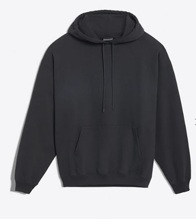 BALENCIAGA Hoodies Plain Hoodies 6