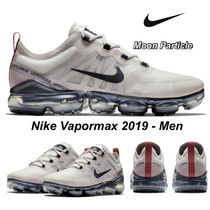 Nike Vapor Max Unisex Street Style Plain Leather Sneakers