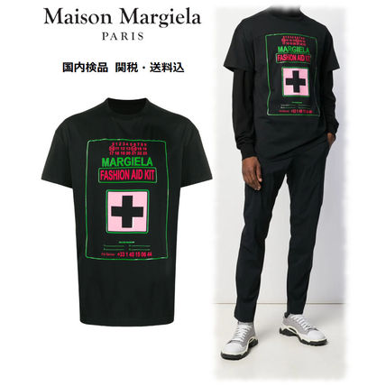 Maison Martin Margiela Crew Neck Crew Neck Cotton Short Sleeves Crew Neck T-Shirts