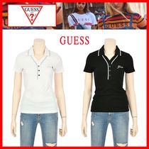 Guess Street Style Polo Shirts