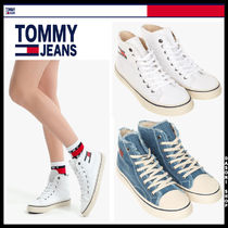 Tommy Hilfiger Unisex Street Style Low-Top Sneakers