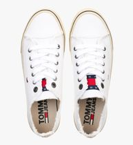 Tommy Hilfiger Unisex Street Style Logo T-Shirt Sneakers