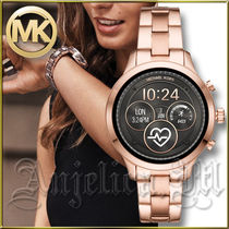 Michael Kors RUNWAY Casual Style Unisex Round Stainless Digital Watches