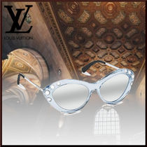 Louis Vuitton Blended Fabrics Studded Sunglasses