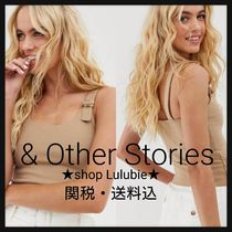 & Other Stories Casual Style Plain Tanks & Camisoles