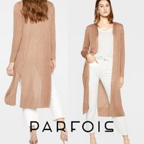 PARFOIS Long Sleeves Plain Medium Sweaters