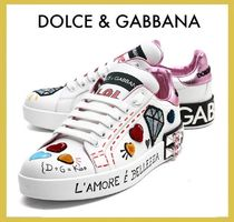 Dolce & Gabbana Unisex Low-Top Sneakers
