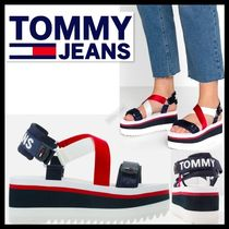 Tommy Hilfiger Casual Style Sport Sandals Flat Sandals