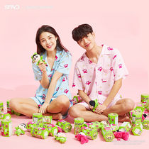 SPAO Star Dots Unisex Blended Fabrics Collaboration