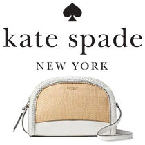 kate spade new york Casual Style Blended Fabrics Leather Handbags