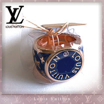 Louis Vuitton MONOGRAM Unisex Street Style Bi-color Rings