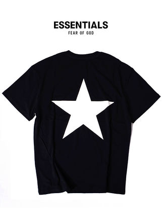 FEAR OF GOD More T-Shirts Unisex Street Style Short Sleeves T-Shirts