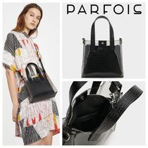 PARFOIS Faux Fur Blended Fabrics 2WAY Other Animal Patterns