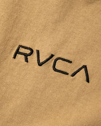 RVCA More T-Shirts Unisex Plain Short Sleeves T-Shirts 11