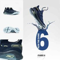 UNDER ARMOUR CURRY Street Style Plain Sneakers