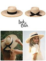 lack of color Straw Hats