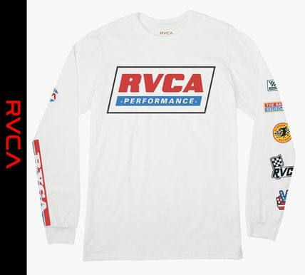 RVCA Long Sleeve Crew Neck Street Style Long Sleeves Long Sleeve T-Shirts