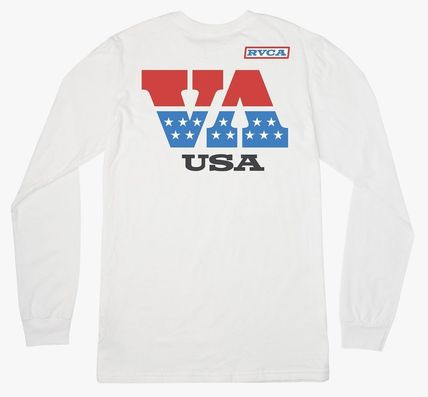 RVCA Long Sleeve Crew Neck Street Style Long Sleeves Long Sleeve T-Shirts 2