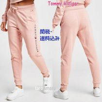 Tommy Hilfiger Casual Style Sweat Street Style Plain Medium Sweatpants