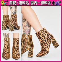 DOLLS KILL Leopard Patterns Casual Style Other Animal Patterns