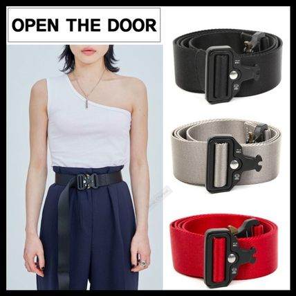 Casual Style Unisex Street Style Belts