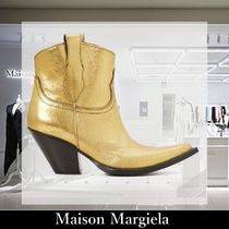 Maison Martin Margiela Leather Ankle & Booties Boots