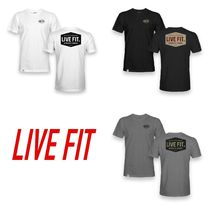 Live Fit Blended Fabrics Street Style Yoga & Fitness Tops